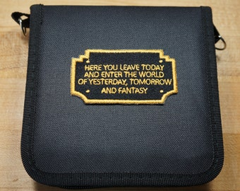 Disney Entrance Plaque Inspired Trading Pin Bag
