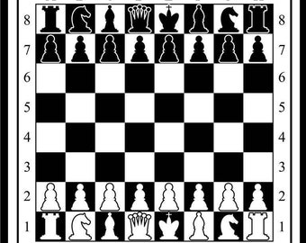 Free Shipping-Vinyl Floor mat - Chess Model -A wonderful gift for a new home and office
