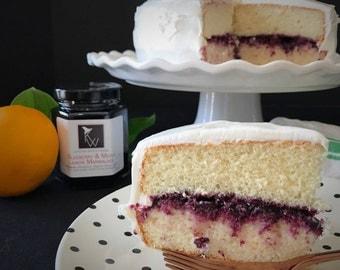 Blueberry & Meyer Lemon Marmalade, Blueberry Jam, Meyer Lemon, Gourmet Gift, GIft for Her, Gift for Foodie, Gift for Teacher,  Gift for Him