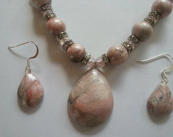 Polymer Clay Marbled Jewelry