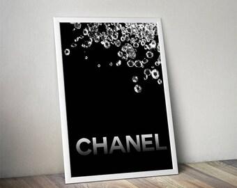 Chanel decor | Etsy
