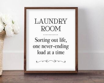 Laundry Room Sign, Printable Laundry Room Art, Laundry Print, Funny Laundry Room, Printable Art, Vintage Laundry Sign, Laundry Decor