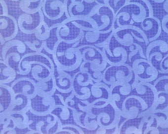 Quilt backing, Purple swirl, extra wide quilt backing, 3 yards quilt backing precut