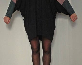 Wide, soft jersey dress
