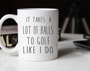 Funny Dad Golf Mug, Funny Fathers Day Mug, Birthday Gift for Dad, Dad Mug, Gift for dad, Coffee Mug, Dad cup, Dad Gift, Dad Christmas Gift