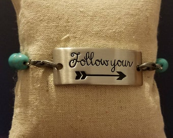 Follow your arrow,  bracelet, arrow