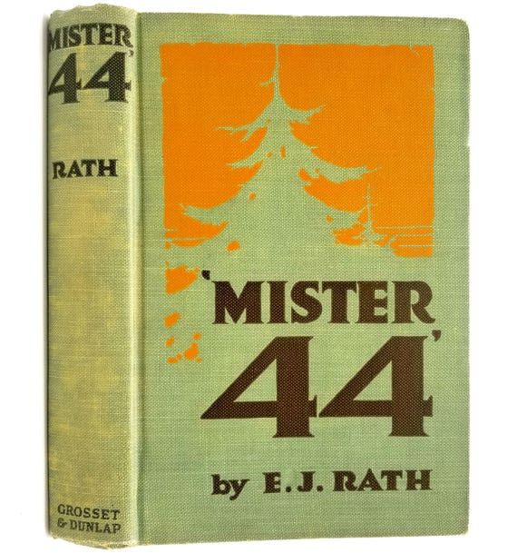 Mister 44 by E.J. Rath Illustrated by George W. Gage Grosset & Dunlap 1916 Antique Fiction Novel