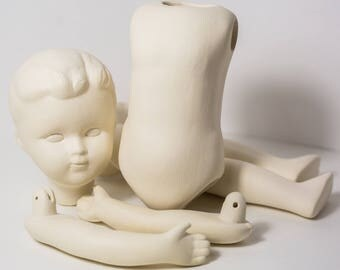 Body Set parts to create BJD Ceramic antique doll 105
