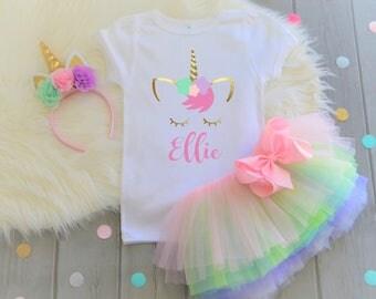 Girls Birthday Shirt, Girls Unicorn shirt, Unicorn Birthday Shirt, Personalized Unicorn Shirt, Unicorn tee, Unicorn birthday, Unicorn shirt