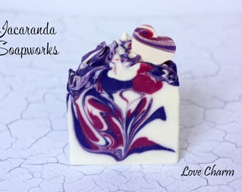 Love Charm Handmade Natural Artisan Soap