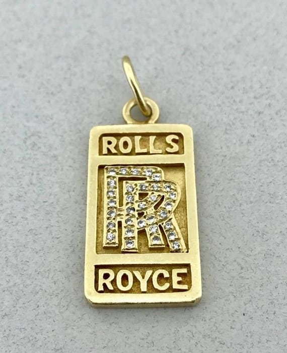 Awesome heavy solid 14k yellow gold and 025 ct diamond rolls like this item aloadofball Choice Image