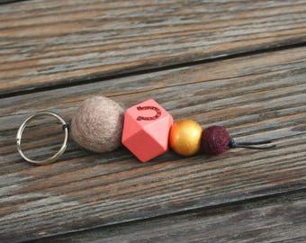Horseshoe key chain