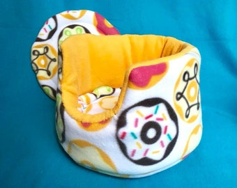 Made to Order Donut Cuddle Cup!! For Guinea Pigs, Hedgehogs, Rats, Ferrets, Small Animals!