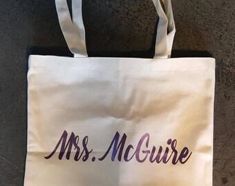 Custom MRS Tote Bag