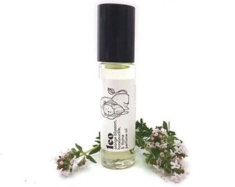 Leo Zodiac Perfume Oil - Astrology Gift - Orange Blossom Fragrance - Roll On perfume - Gift for Leo Birthday - Vegan Perfume Roller Ball