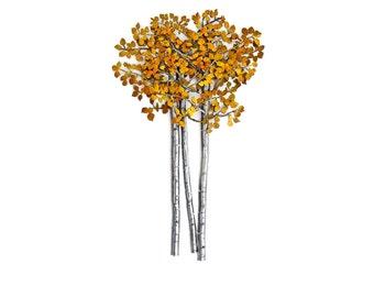 Steel Aspen Trees 5