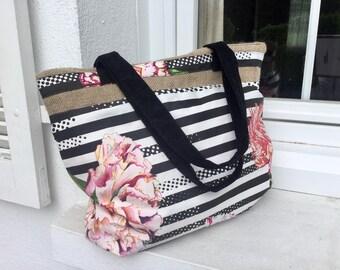 Beautiful Christian Lacroix fabric bag
