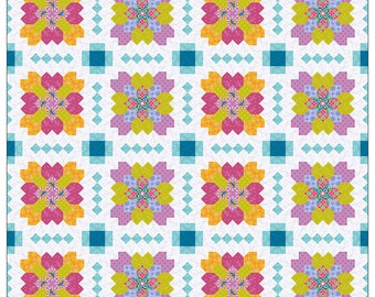 Lucy Boston Patchwork of the Crosses English Paper Piecing Quilt