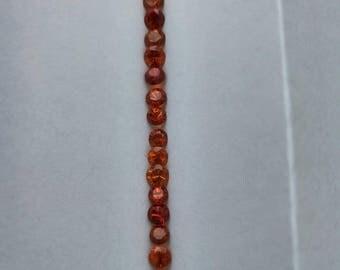 Spessartine Orange Garnet 5.0mm 1pc