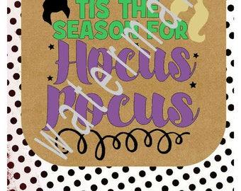 Hocus Pocus SVG - Fall svg Pumpkin svg - silhouette cameo cricut DFX JPEG t shirt transfer Season for Hocus Pocus Witch svg Broom