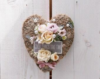 MOSS heart * rose *.