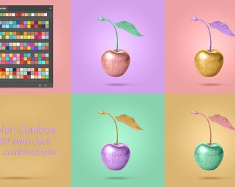 Color Combinations for Digital Painting