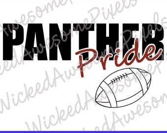 Panthers svg, School Team svg, Panther Pride, Panthers Cut File, School Sport svg, Panthers Iron On, Digital Download, EPS, PNG, DXF