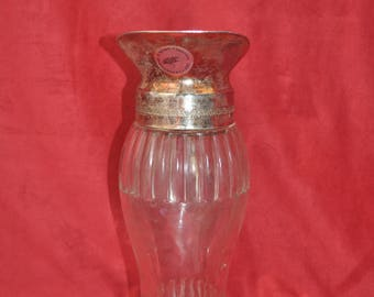 Glass and metal Ewer