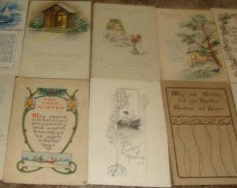 Lot of 20 Vintage Postcards