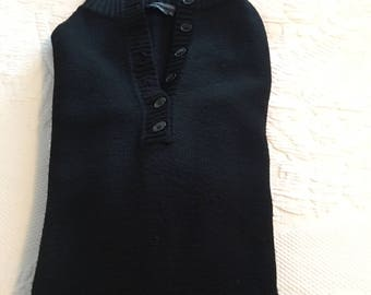 Black knit dress by BCBGMAXAZRIA,S