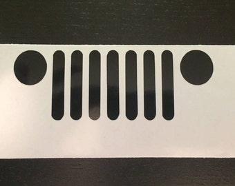 Inventory Sale!!!! - Jeep Decal/Jeep Decals/Jeep/Jeep Grill/Jeep Grill Decals/Decals