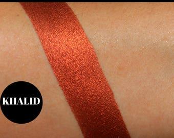 Dark Red Orange Eyeshadow, Eyeshadow Palette, Custom Palette, Burnt Red Orange, Vegan Eyeshadow, Makeup, Cruelty Free, Gift for Her,