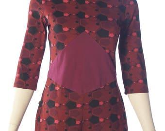 Dress 3/4 sleeves - Kawala Dress Betty