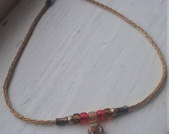 Shell Viking Knit Choker