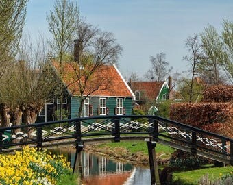 Zaanse Schan, Netherlands | Travel, Travel Photography, Wall Art, Travel Lovers, Home Decor, Travel Decorations, Travel Prints