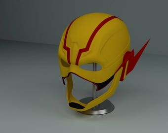 Reverse Flash Mask from Injustice 2 DC Cosplay Flash Helmet 3D Printing STL File