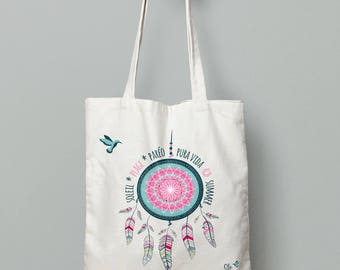 Tote bag * summer dreamcatcher *.