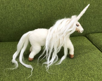 Magical Needle Felted Unicorn