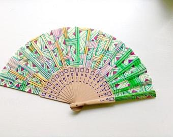 Unique hand fan design 14
