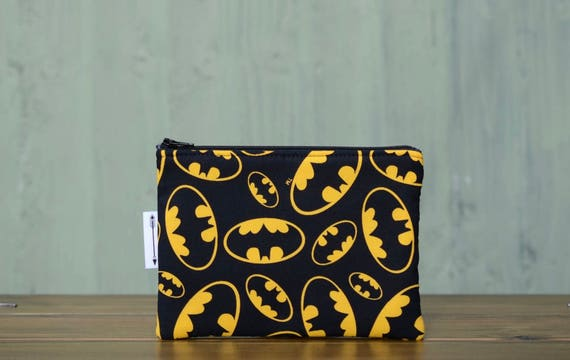 Batman Bat Sign zipped pouch