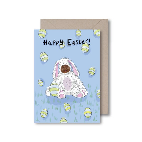 Cute Baby Easter Bunny
