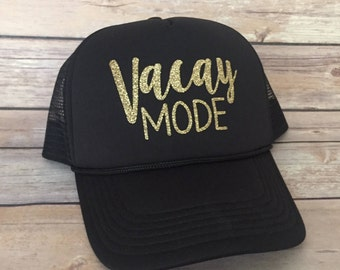 Vacay Mode Adult Trucker Hat
