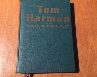 Tom Harmon and the Great Gridiron Plot - Book Taxidermy 4