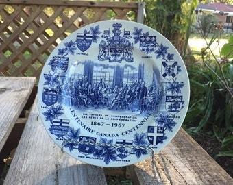 Canadian Centennial (1867-1967) Plate