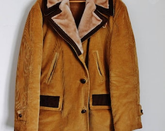 Western Jacket, Fall Coat, Winter, Corduroy, Big & Tall