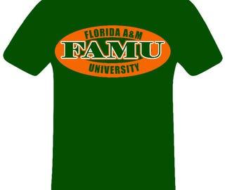 FAMU Logo shirt