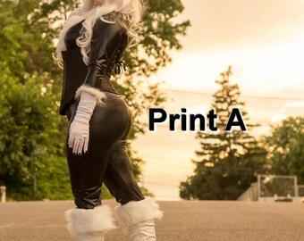 Black Cat 11x17 Cosplay Print