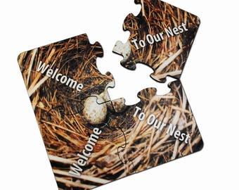 "Hardboard Coaster Puzzle For Sublimation- 7.75"" x 7.75"""
