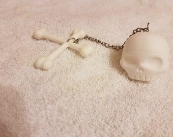 Rubber Skull Tea Infuser