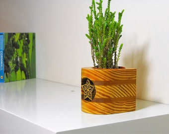 Indoor Wooden Plant Pot